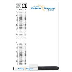 """Wholesale Magnets - 20 mil Dry Erase Magnet with Marker and Clip - 5-1/4""""W x 8""""H"""