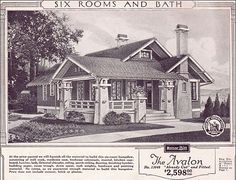 a Sears Bungalow ad