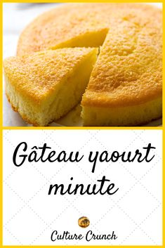 Sweet Recipes, Cake Recipes, Dessert Recipes, Brunch Cake, Desserts With Biscuits, Yogurt Cake, French Pastries, Sweet Cakes, Easy Desserts