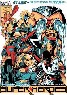 Hanna Barbera Superheroes T-Shirt
