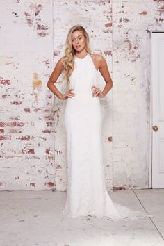 Karen Willis Holmes Collection - Style Me Pretty Wedding Dress Crop Top 624948d644e1