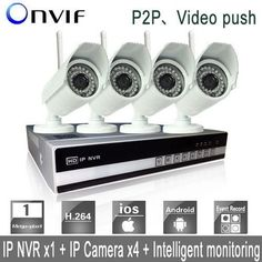 4CH 720P Network Video Recorder IP Security HD Camera NVR System WiFi 2015 HOT #UnbrandedGeneric