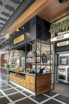 Biga is the leading food chain in Israel with over 45 shops around the country. Biga is a combination of an Italian bistro with a … Kiosk Design, Bakery Design, Cafe Design, Retail Design, Signage Design, Corporate Design, Design Design, Graphic Design, Coffee Shop Interior Design
