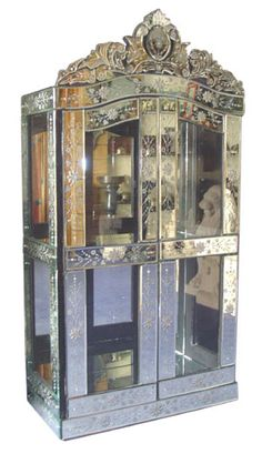 venetian mirror Armoire....