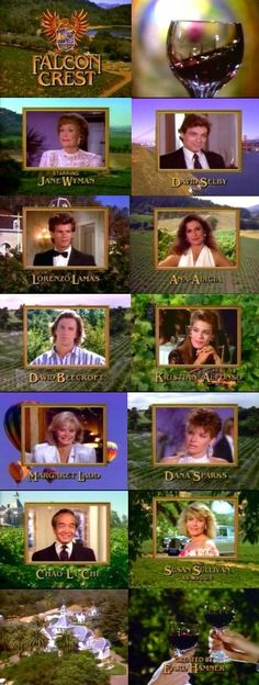 30 Best Falcon Crest Cast images in 2019 | Falcon crest