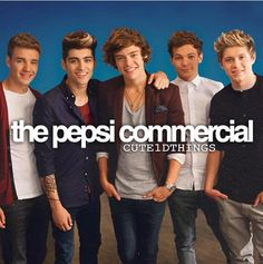 The Pepsi commercial was one of my faves because i am a die hard saints fan and an around the clock directioner