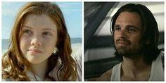 James & Allie comparison || Sebastian Stan & Georgie Henley