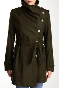 I really like the shape of this Sam Edelman Solid Print Wrap Coat. Fashion 101, Fashion Brands, Autumn Fashion, Fashion Outfits, Womens Fashion, What Should I Wear, What To Wear, Wrap Coat, Print Wrap