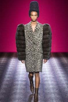 The 2nd Amendment. (the right to BEAR arms...get it?!) Ha! Love Schiaparelli Haute Couture