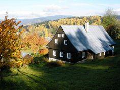 Chalupa s vyhlídkou, ubytování Tanvald - Šumburk Jizerské hory - ID 0648 Home Fashion, Cabin, House Design, House Styles, Home Decor, Decoration Home, Room Decor, Cabins, Cottage