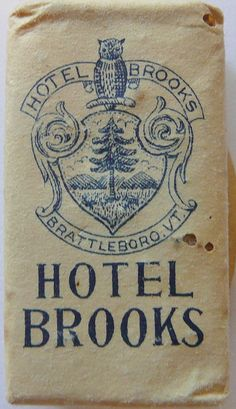 HOTEL BROOKS BRATTLEBORO VERMONT by ussiwojima, via Flickr