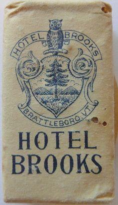 HOTEL BROOKS BRATTLEBORO VERMONT by ussiwojima, via Flickr