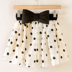 Polka Dot Bow Mini