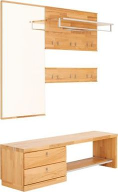 garderobe mit sitzbank on pinterest truhenbank. Black Bedroom Furniture Sets. Home Design Ideas