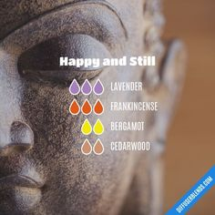 Happy and Still - Essential Oil Diffuser Blend