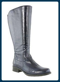JJ Footwear Damen Stiefel Leder Mannheim XL Ozean Dream 39 - Stiefel für frauen (*Partner-Link)