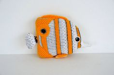 Copperplated Butterfly Fish Crochet Pattern, Fish Amigurumi Pattern…
