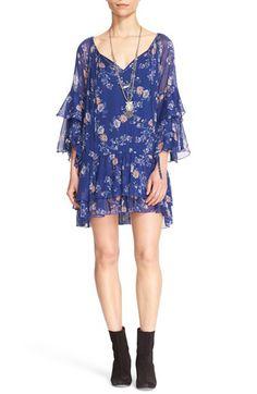 Ivory combo dress