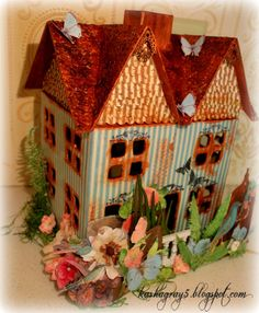 "Kasha Gray's -Life's Treasures: Scraps of Elegance - March - ""Floral Fantasy"" Reveal!!!!"