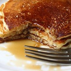 Food Wishes Video Recipes: Grandma Kelly's Good Old Fashioned Pancakes Really Measure Up - these were thick and delicious! Breakfast And Brunch, Breakfast Dishes, Breakfast Recipes, Breakfast Ideas, Mexican Breakfast, Breakfast Sandwiches, Breakfast Pizza, Old Fashioned Pancake Recipe, Best Pancake Recipe