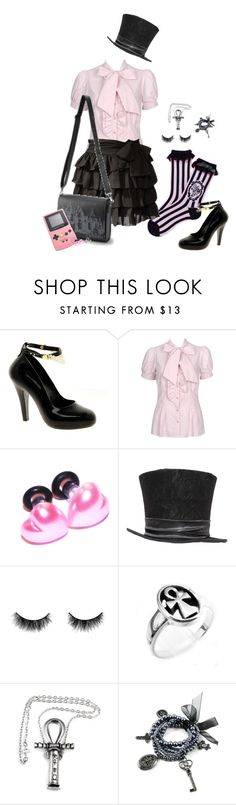 """""""Sem título #515"""" by caaandy ❤ liked on Polyvore featuring Vivienne Westwood, Forever 21 and shu uemura"""