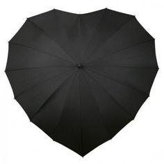 heart shaped umbrella ++ love umbrellas