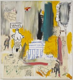Jean-Michel Basquiat, Untitled (Venus/The Great Circle), 1983