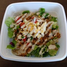 タコライス!! 久々のフードトラックっす(^^)✨ カレー味の挽肉がいいね✨🎶 野菜もたっぷりやったし(・∀・) また買いましょう(∩´∀`∩) #ランチ #ランチタイム #タコライス #フードトラック #フードトラックマーケット #野菜 #たっぷり #挽肉 #肉 #カレー味 #lunch #lunchtime