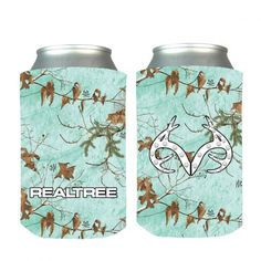 Realtree Sea Glass Bling Can Coozie