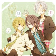 Natsume, Azusa y Tsubaki :3