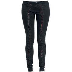 Pants, Tartan Cording, Rock Rebel by EMP - Sweden Rock Shop, 449 SEK