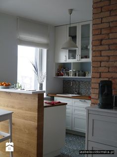 białe szafki - zdjęcie od Izabela Widomska Wnętrza - Kuchnia - Styl Tradycyjny - Izabela Widomska Wnętrza