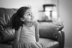 Natalia was surprised by the tv. #85mm #rokinon #monochrome #sonya7 #kids #mirrorless