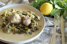Cookbook Recipes, Cooking Recipes, Appetisers, Greek Recipes, Celery, Food Inspiration, Pork, Eggs, Yummy Food