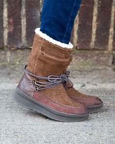 14ac4188ec74 Go to the mountains in style this season with Slope cold weather boots.  These stylish