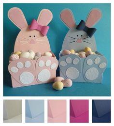 Project - Easter Bunny Gift Boxes | papermilldirect