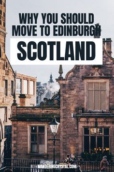 Looking at moving to Scotland? Here are 23 reasons you should move to Edinburgh. Moving to Edinburgh Scotland, pros and cons of living in Edinburgh, reasons to live in Edinburgh, expats in Scotland, moving to Scotland, wandering crystal, living abroad in Scotland, moving to Scotland from Canada, why Edinburgh is a great place to live, how to find a flat in Edinburgh, living in a city with a castle, moving to Scotland from US #Edinburgh #Scotland #Expat #LivingAbroad #wanderingcrystal Edinburgh Castle, Edinburgh Scotland, Moving To Scotland, Walkable City, Edinburgh Festival, Moving To The Uk, Working Holidays, Best University, Reasons To Live