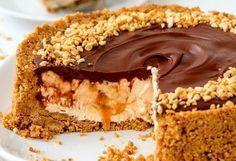 Υπέροχο cheesecake με Nutella και καραμέλα