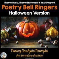 Halloween Poetry Bell Ringers