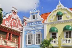 Center Square in Oranjestad, Aruba jigsaw puzzle in Puzzle of the Day puzzles on TheJigsawPuzzles.com