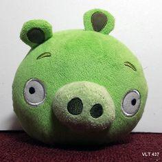 Angry Birds - Green Pig Plush Stuffed Animal 5