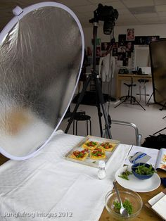 photographing food for your blog