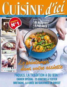 Nouvel abonnement : Cuisine d'Ici n°1, Printemps 2014