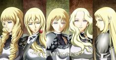 """Claymore - Clare Theresa anime 