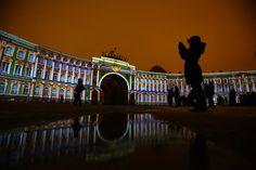 На Дворцовой площади устроят бесплатное лазерное шоу в честь Дня Эрмитажа Санкт-Петербург 2016 Дворцовая площадь