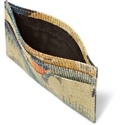 Billfolds, cardholders, money clips or the classic wallet. Whatever way you want to look after your money, you'll find a wallet for you at MR PORTER. Designer Wallets, Toms, Card Holder, Van, Beige, Printed, Canvas, Accessories, Tela