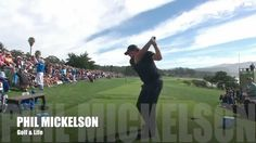 Phil Mickelson Swing/Driver, iron/backwards shot/flop shot/Slow Motion/필...