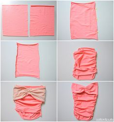 The 3-in-1 DIY swimsuit sewing tutorial - Alter to make more modest, and BAM, maternity swim suit!