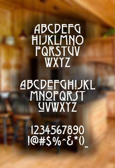 Dyer Arts and Crafts Font #freefonts #fontsfordesigners #bestfreefonts #freebies