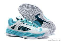 2013 Womens Nike Lunar Hyperdunk Low Low White/Green Basketball Shoes